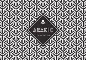 Freies arabisches nahtloses vektormuster