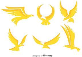 Goldene Eagle Vektoren