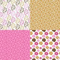 Rosa und braune Muster