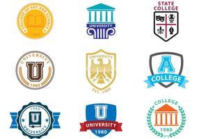 Universitet Logo Vektorer