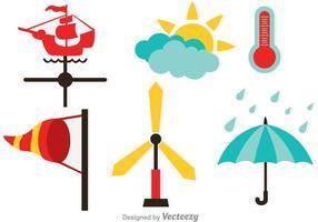 Vädervektorikoner