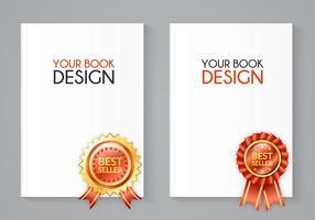 Kostenloser Bestseller Buch Vektor Set