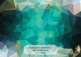 Zusammenfassung Polygon Hintergrund Illustration