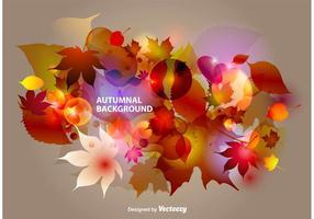 Herbstliche Zusammenfassung Hintergrund