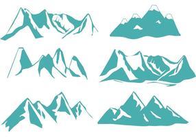 Denver Gebirgsvektoren vektor