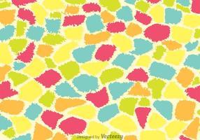 Färgglatt giraffmönster