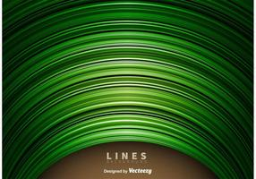 Abstract Green Lines Hintergrund vektor