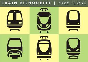 Train Silhouette Kostenlose Icons