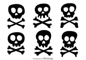 Skull och Crossbone Vectors