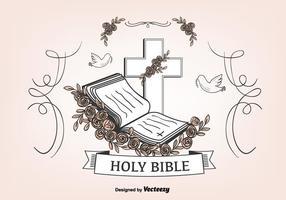 Öffnen Sie Bibel Hintergrund