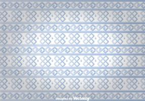 Blå etnisk prydnad Wall Tapestry