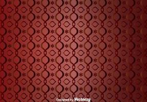 Rote Kurve Verzierung Wandteppich