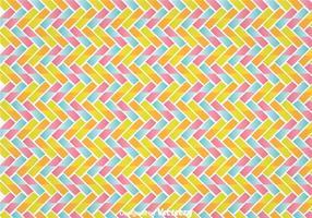 Färgglatt Zig Zag Wall Tapestry vektor