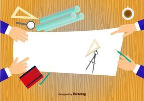 Architektur-Werkzeugsatz vektor