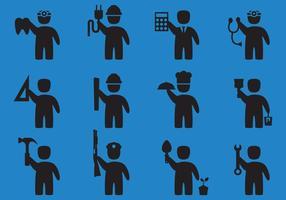 Beruf Symbol Vektoren