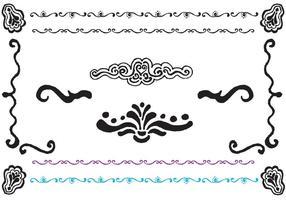 Free Fancy Lines Vector Serie