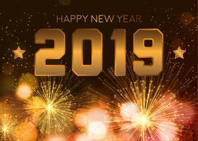 Frohes neues Jahr 2016 vektor