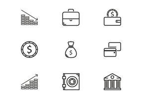 Bank Icon Vektoren