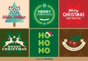 Frohe Weihnachten Abzeichen