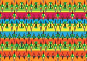Aztekisches Muster Vektor