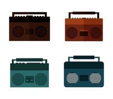 stereo ikoner set