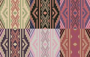 Boho Pattern Geometrischer Hintergrund