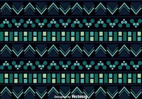 Aztec Mönster På Mörk Bakgrund vektor