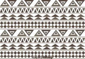 Aztec mönster vektor
