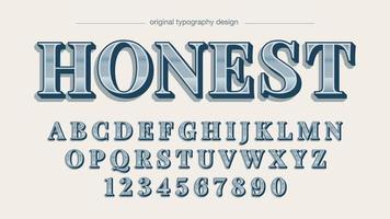 krom silver elegant sans serif alfabetet