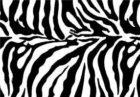 Gratis Zebra Print Bakgrund Vector