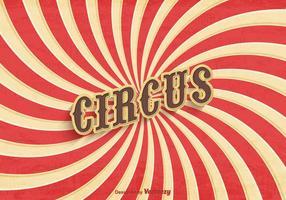 Freier alter Zirkus-Plakat-Vektor