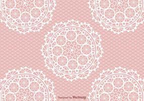 Free Crochet Lace Vektor Hintergrund