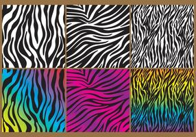 Zebra print bakgrund vektor