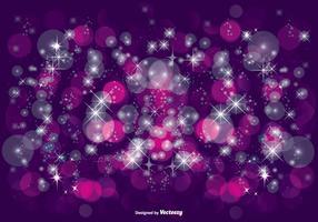 Schöne lila Glitzer Illustration