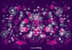 Vacker lila glitter illustration