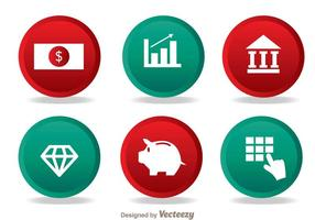 Bank Einfache Icons