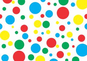 Twister Polka Dots Gratis Vector
