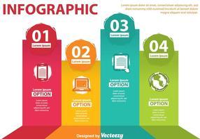 Technologie-Infographie-Vektoren vektor