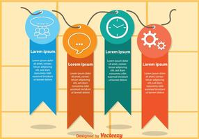 Tag Infografie Vektoren