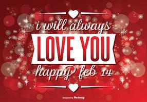 Schöne Valentinstag Illustration vektor