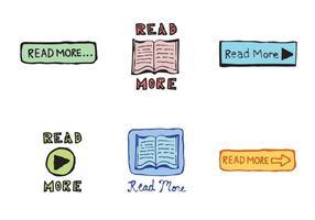 Free Lesen Sie mehr Icon Vector Series