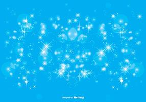 Blue Sparkle Hintergrund Illustration