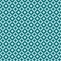 blågrön retro marken geometriska mönster vektor