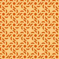 orange und rotes geometrisches Muster