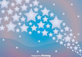 Star Wave Hintergrund vektor