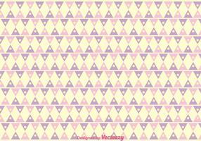 Triangel flickaktigt mönster vektor