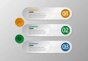 Freier Kreis Infografischer Vektor