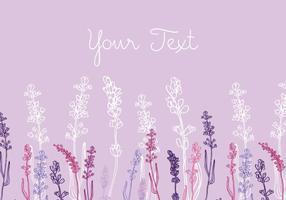 Lavendel Hintergrund Design vektor