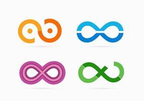 Infinite Loop Set Vektoren