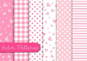 Romantische rosa Muster vektor